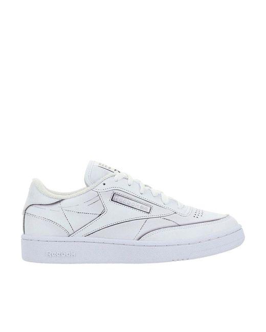 Reebok White Club C Sneakers for men