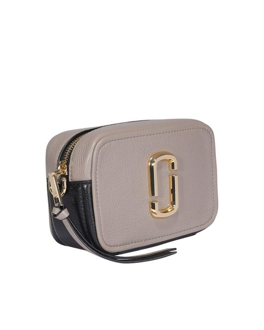 Borsa A Tracolla The Softshot 17 Beige di Marc Jacobs in Natural