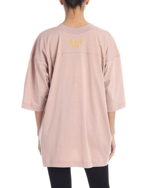 T-Shirt Rescue2 Rosa di Vivienne Westwood in Pink