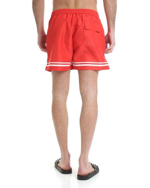 Costume Rosso di Gcds in Red da Uomo