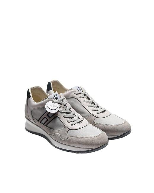 Hogan Rebel - Multicolor Leather Sneakers for Men - Lyst