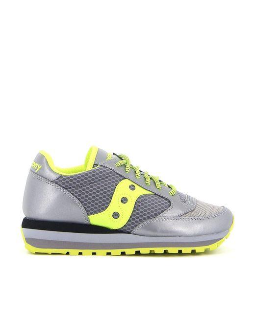 Saucony Gray Jazz Triple Sneakers