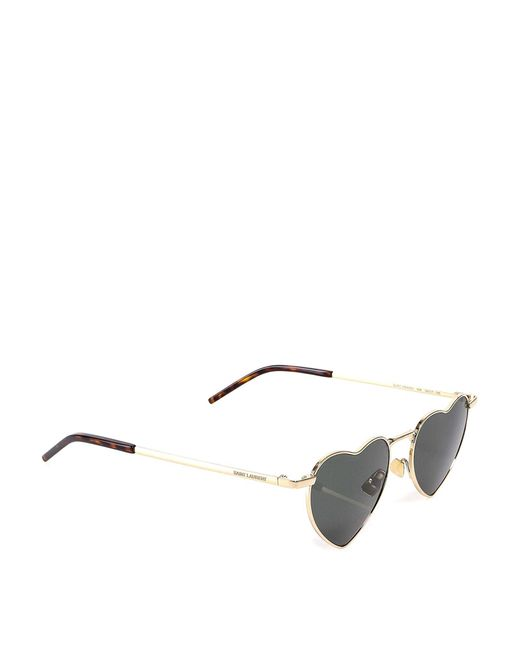 Saint Laurent Metallic New Wave Sl 301 Loulou Sunglasses