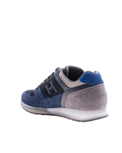 Blue and gray H321 sneakers Hogan jfMCc