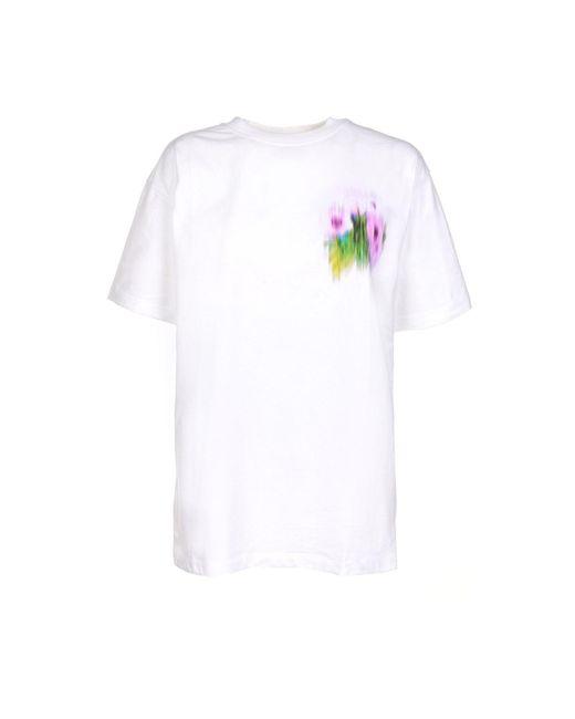 KENZO White Coquelicot Oversized T-shirt