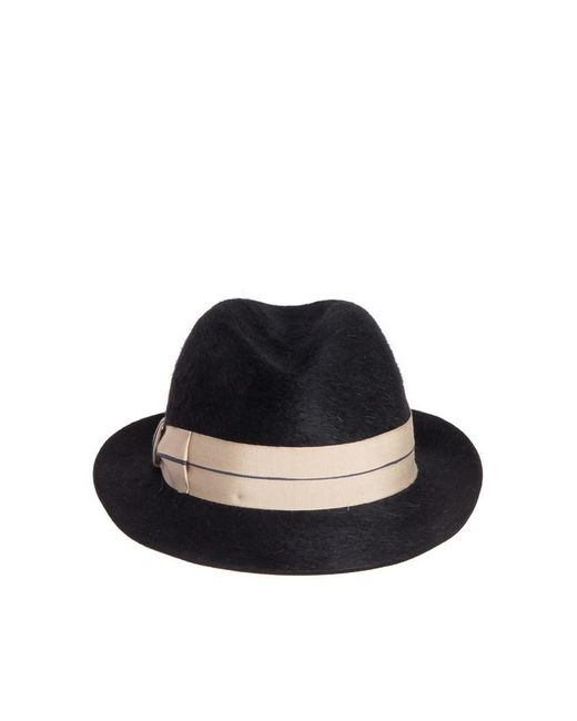 Borsalino - Black Hat - Lyst ... 5754931d88d6