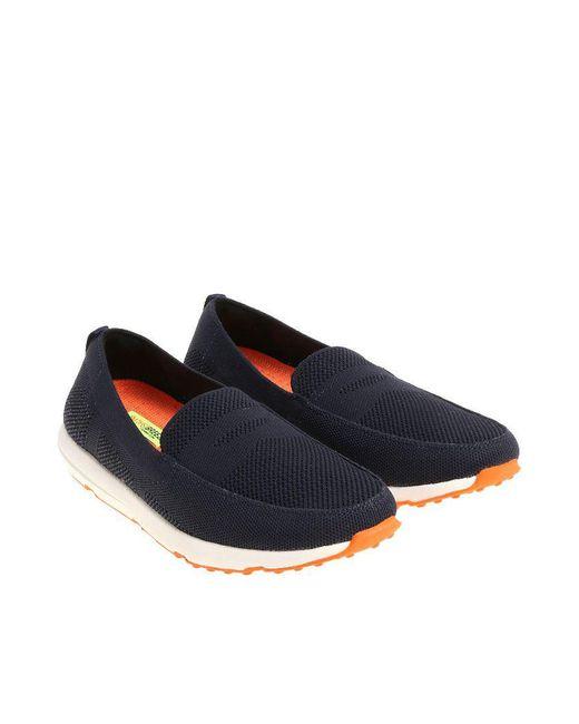 Swims - Blue Breeze Leap Knit Penny Moccasins for Men - Lyst