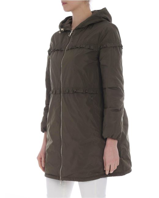 08f6510f7bdd ... Moncler - Luxembourg Trench Jacket In Army Green - Lyst ...