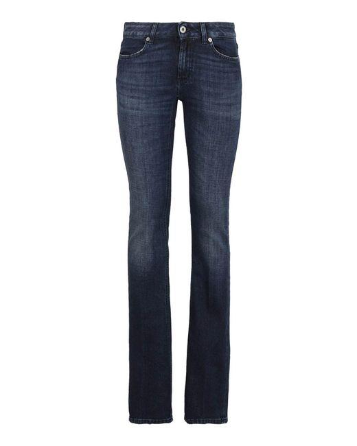 Jeans A Zampa Lola di Dondup in Blue