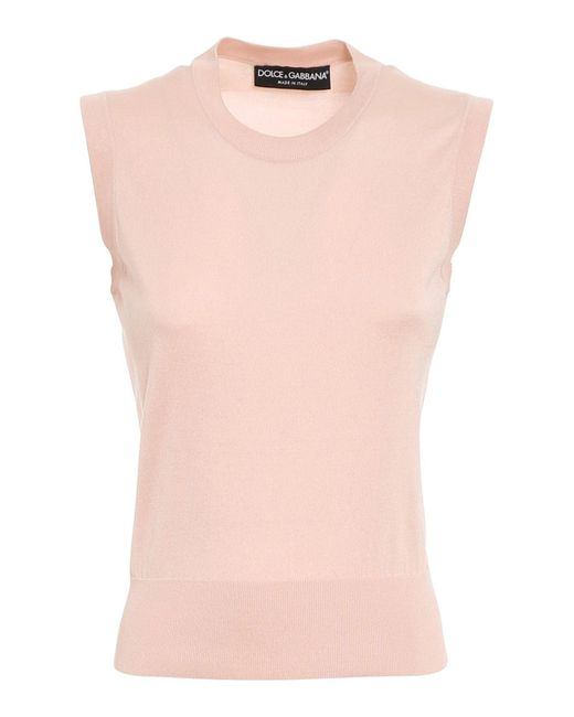 Gilet di Dolce & Gabbana in Pink