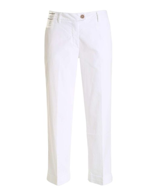 Re-hash White Nelly Chino Pants