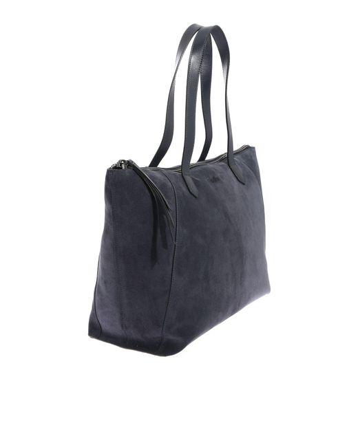 7d8cbea092 ... Hogan - Blue Shopping Bag - Lyst ...