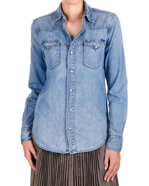 Polo Ralph Lauren Light Blue Denim Shirt