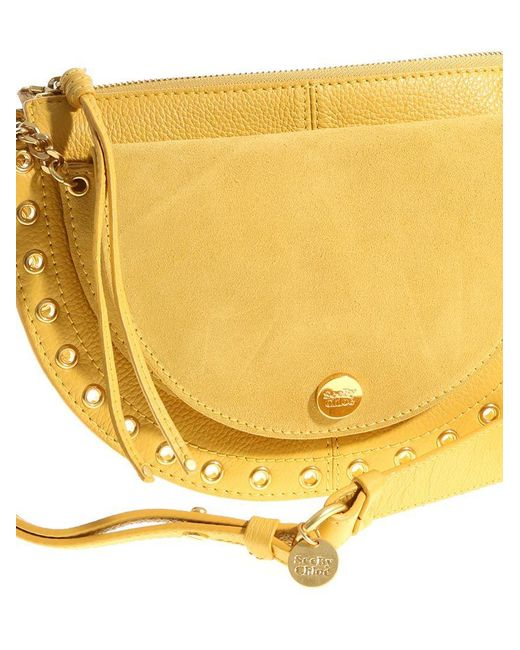 See By Chloé Yellow Kriss medium crossover bag DOrIefM