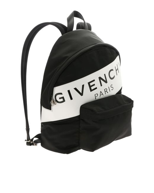 060e03471c17 ... Givenchy - Urban Backpack With White And Black Print for Men - Lyst ...