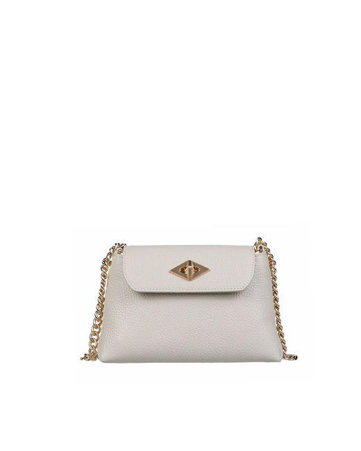 Ballantyne Natural Mini Diamond Bag