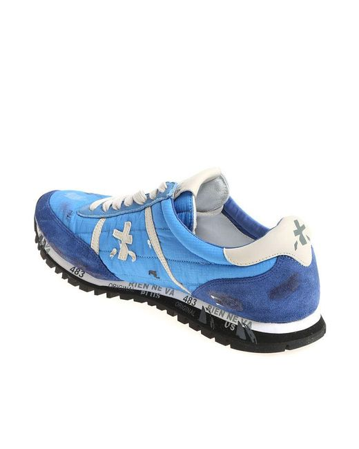 Sale For Nice Best Place Light-blue and blue Sean sneakers Premiata ANSclU