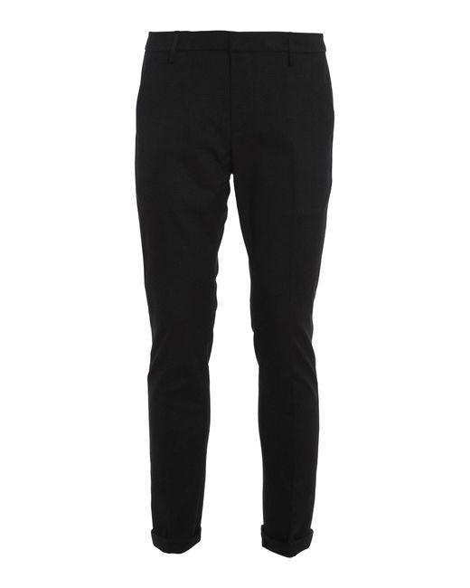 Pantaloni Gaubert Neri di Dondup in Black da Uomo