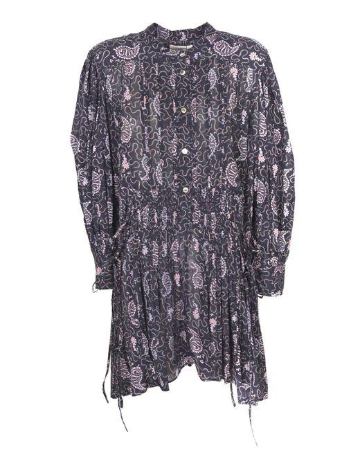 Étoile Isabel Marant Purple Anaco Dress