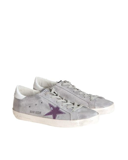 Golden Goose Deluxe Brand - Gray Superstar Sneakers - Lyst