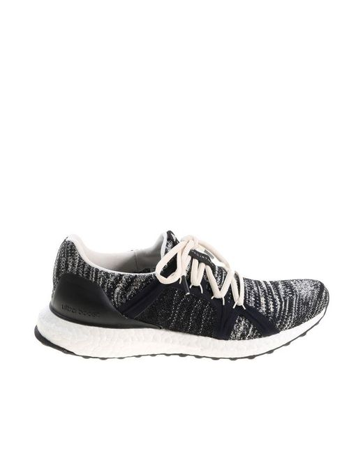 92eade2ba ... Adidas By Stella McCartney - White And Black Ultraboost Parley Sneakers  - Lyst ...