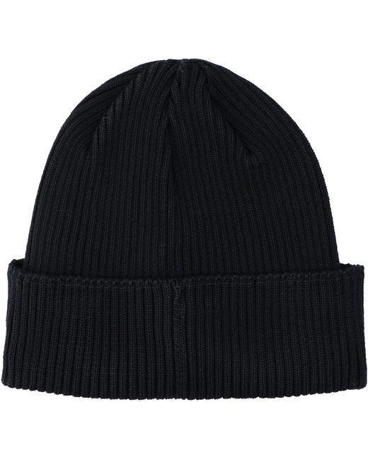 Cappello in maglia a coste di C P Company in Blue da Uomo