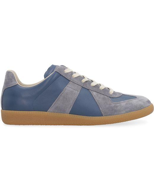 Maison Margiela Blue Replica Low-top Sneakers for men