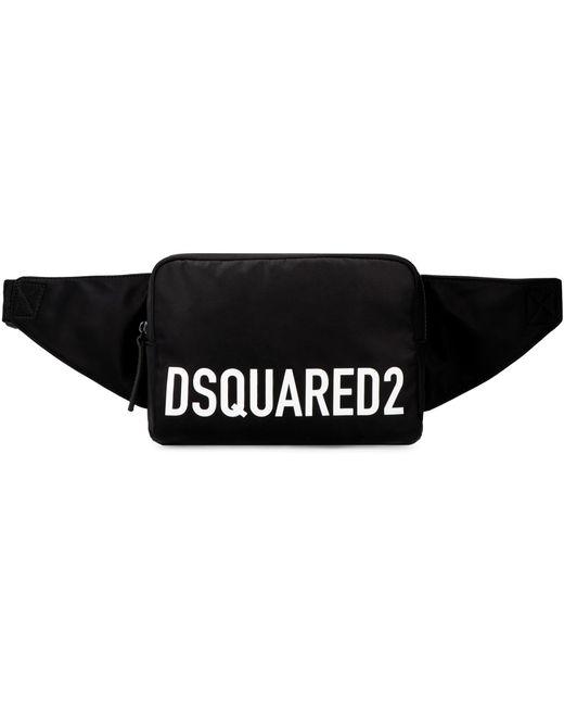 Marsupio in nylon di DSquared² in Black da Uomo