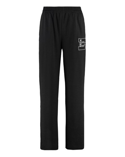 McQ Alexander McQueen Black Techno Fabric Track Pants