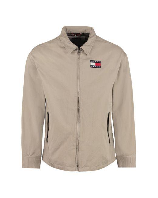 Tommy Hilfiger Multicolor Cotton Full-zip Jacket for men
