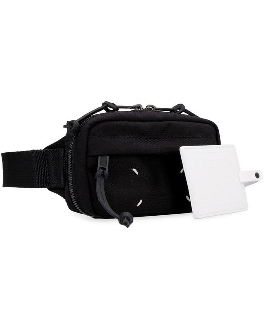 Maison Margiela Black Canvas Belt Bag for men