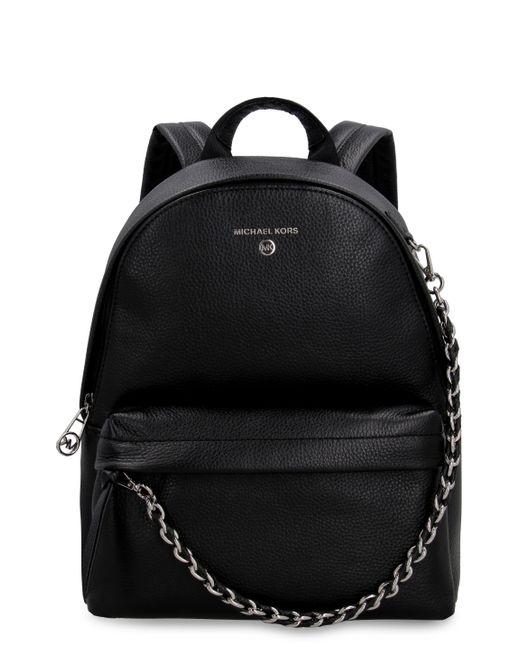 MICHAEL Michael Kors Black Slater Large Nylon Backpack