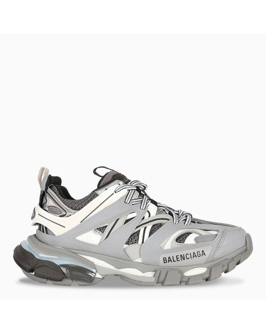 Balenciaga Gray Track Sneakers for men