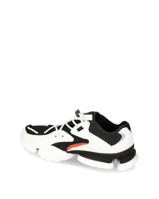 Men's Run R96 Black And White Sneaker