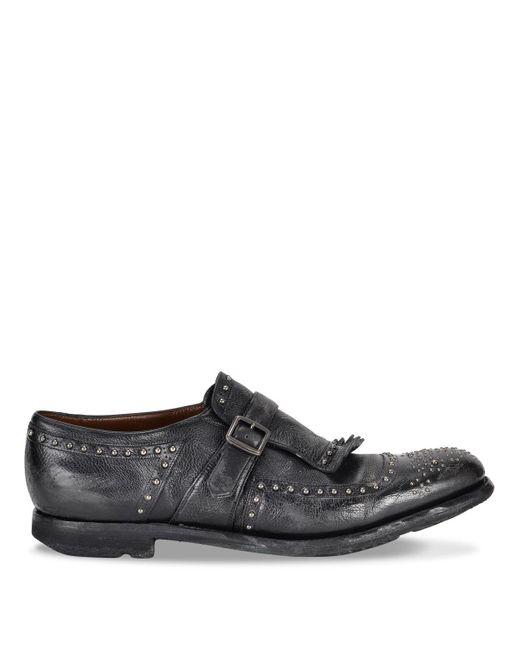 Church's Black Shanghai Derby Shoes for men