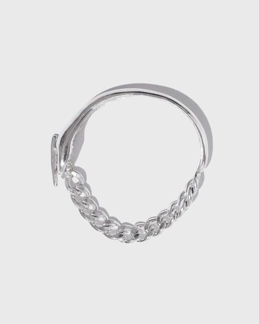 Coyote Negro - Metallic Cuff Chain Bracelet - Lyst
