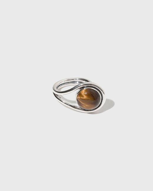 Pamela Love | Metallic Large Lasso Ring | Lyst