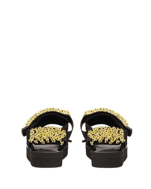Cecile Bahnsen Women's Rubber Sandals With Embroidery
