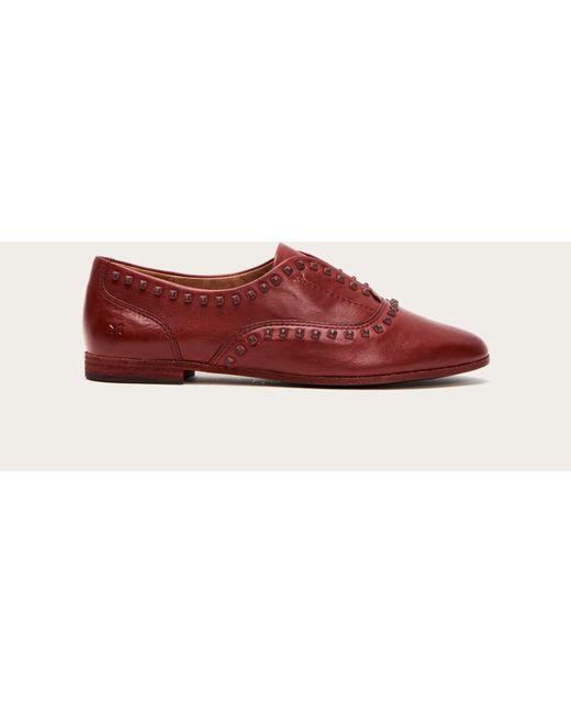 9b957231bde Lyst - Frye Terri Deco Stud Slip On Shoes