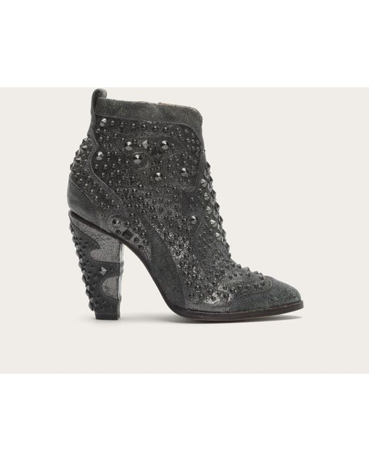 Frye | Gray Remy Deco Bootie | Lyst