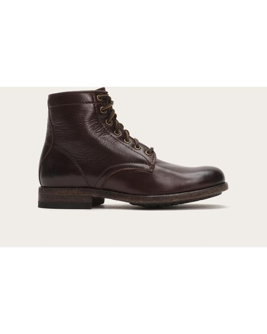 Frye   Brown Tyler Lace Up   Lyst