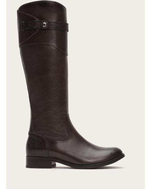 Frye | Black Molly Button Tall | Lyst