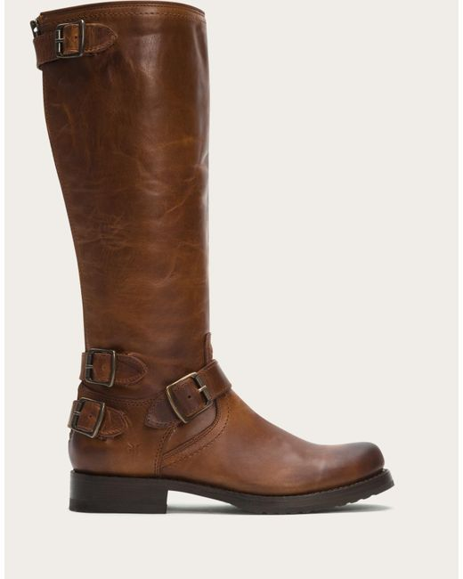 Frye | Brown Veronica Back Zip | Lyst