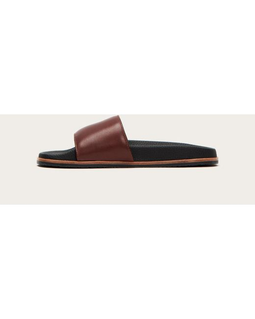 e0e30d6b620 Lyst - Frye Emerson Slide in Brown - Save 36%