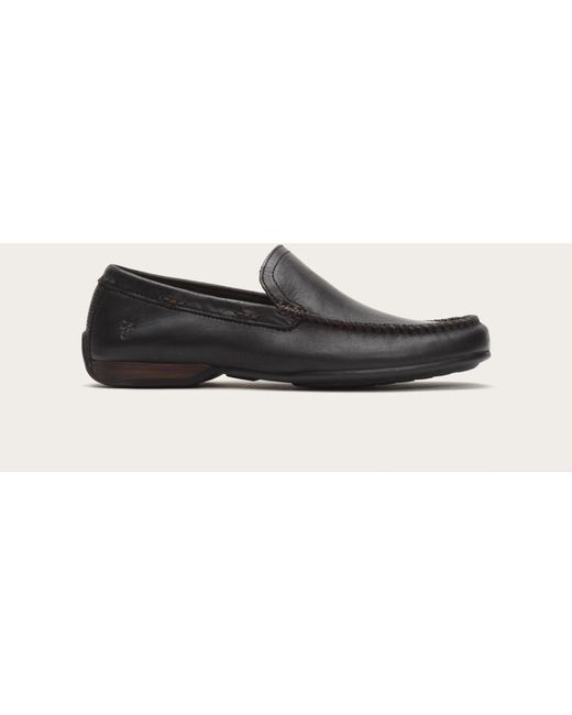 Frye | Black Lewis Venetian for Men | Lyst