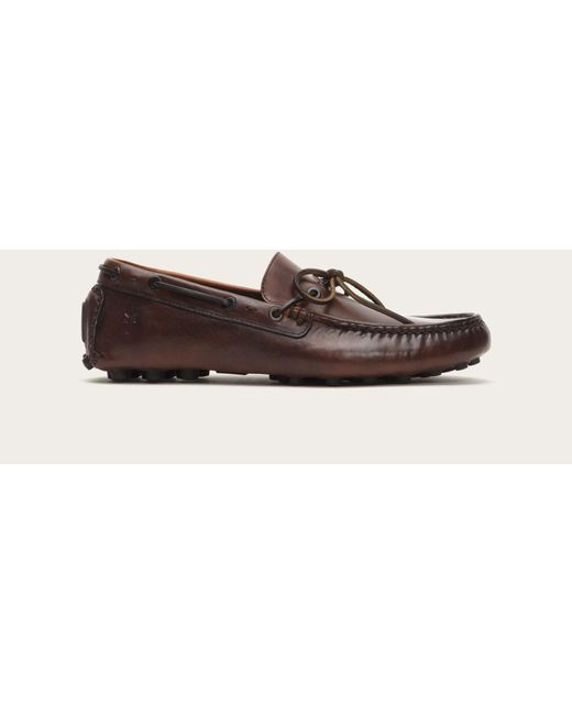 Frye | Brown Russel Tie for Men | Lyst