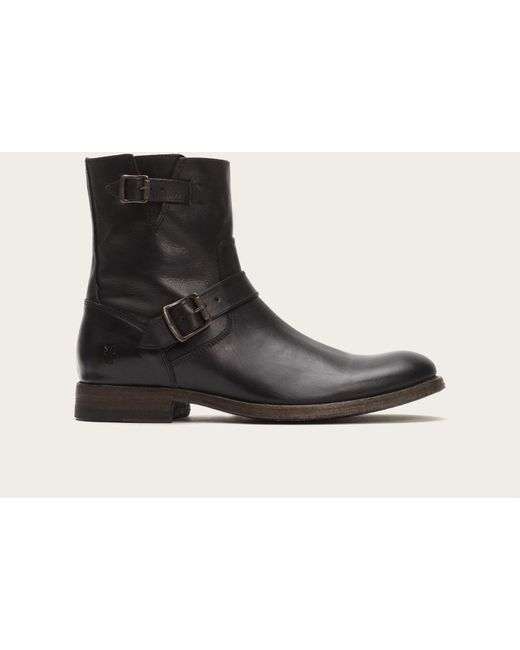 Frye | Black Jacob Engineer for Men | Lyst