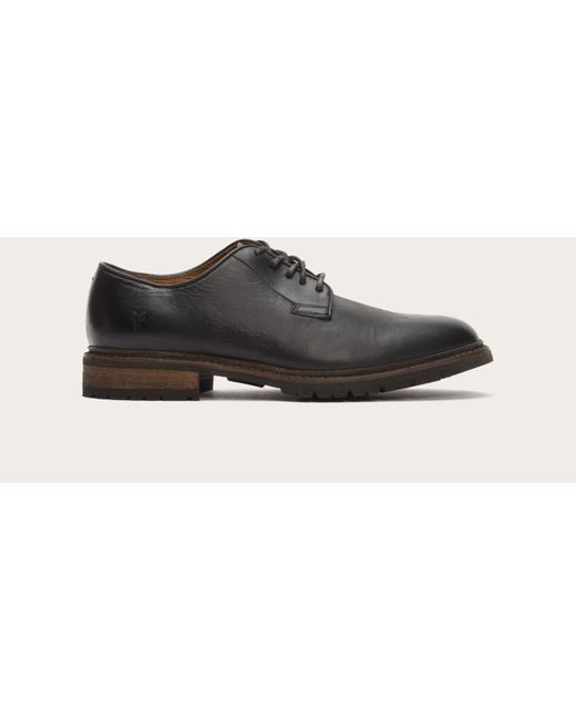 Frye | Black James Lug Oxford for Men | Lyst