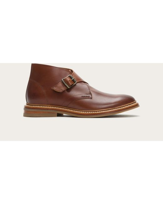 Frye | Brown William Monk Chukka for Men | Lyst