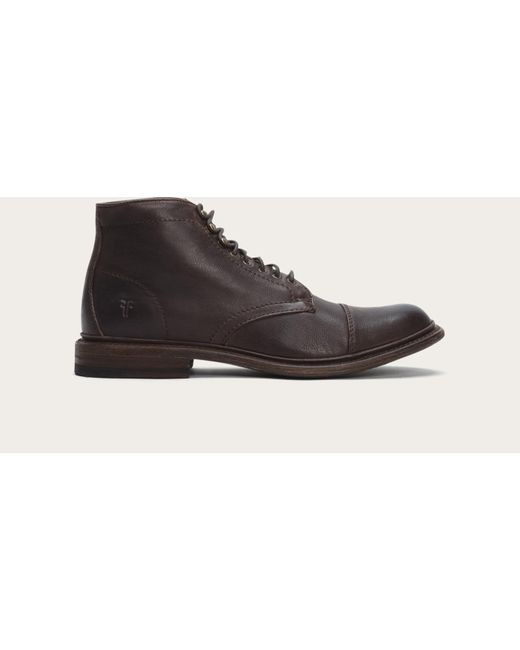 Frye | Brown Jack Lace Up for Men | Lyst